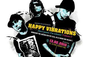 Happy Vibrations - Don't Panic I'm Islamic!